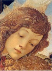 Angel by Sandro Botticelli